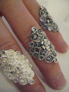 bergtatt gull og sølvsmie - nuperelle ringer