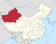 Xinjiang provinsen